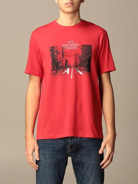 T-shirt Armani Exchange con logo