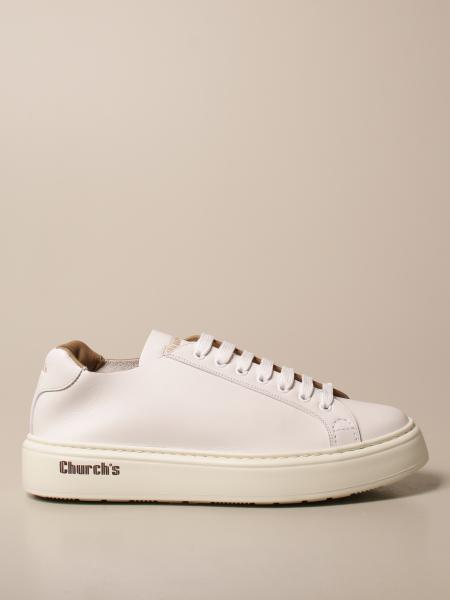 Sneakers Church's in pelle con logo