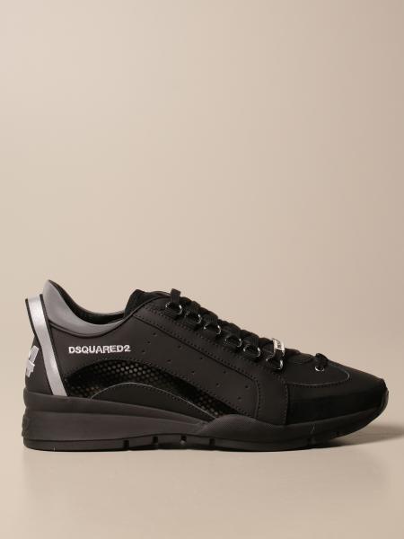 Dsquared2: Спортивная обувь Мужское Dsquared2