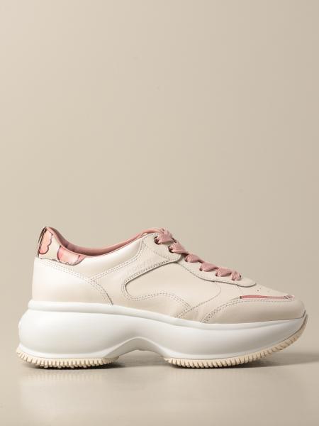 Hogan women: Hogan running sneakers in leather