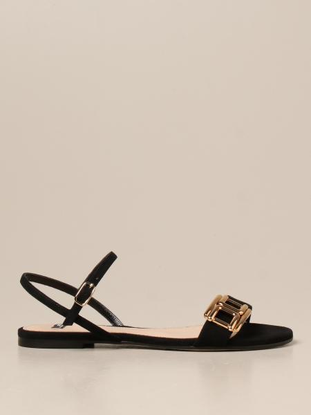 Elisabetta Franchi sandals in suede