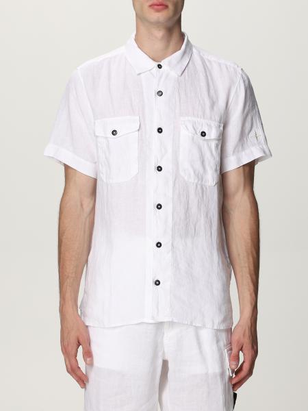 Stone Island linen shirt