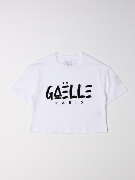 Gaëlle Paris cropped t-shirt with logo