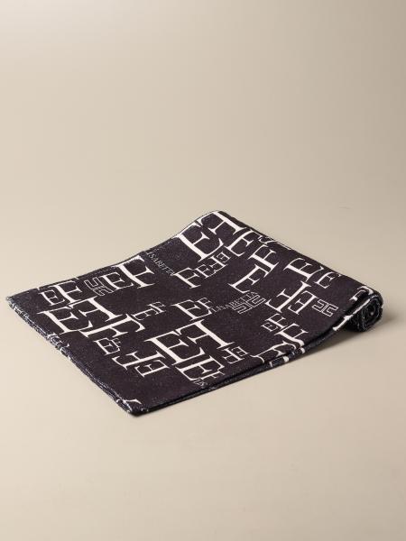 Elisabetta Franchi bath towel with all over logo
