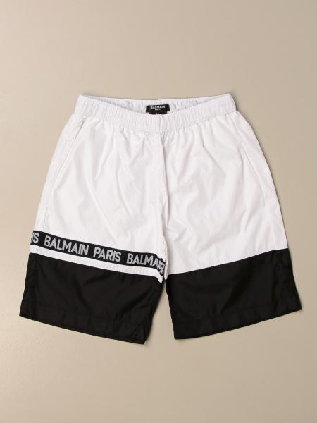 Pantaloncino jogging Balmain in nylon