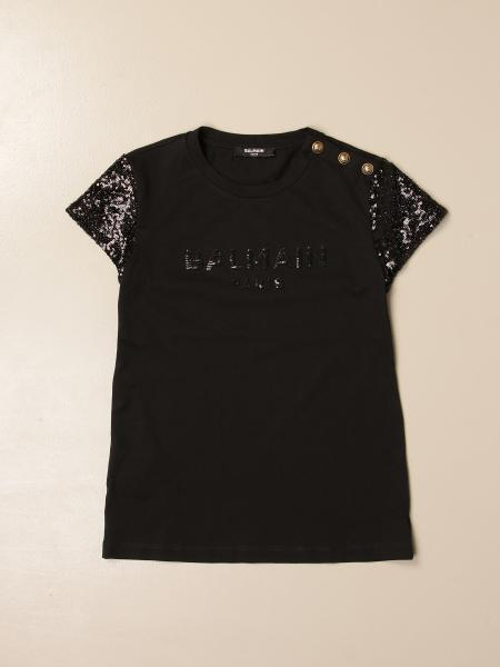 Camisetas niños Balmain