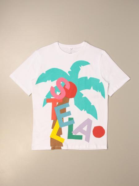 Stella McCartney cotton t-shirt with logo