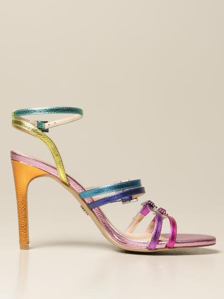 Kurt Geiger London: Sandali Kurt Geiger London in pelle multicolor