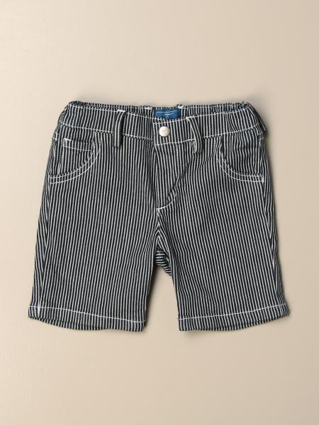 Pantaloncino Fay a micro righe con logo