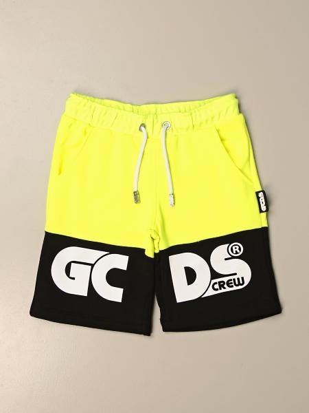 Bermuda jogging Gcds in cotone con logo