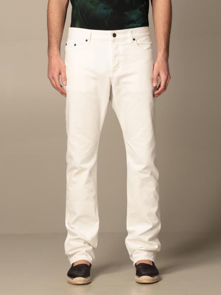 Saint Laurent men: Saint Laurent jeans in cotton denim