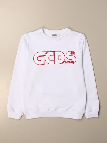Gcds crewneck sweatshirt with logo