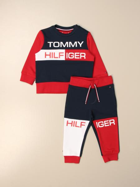 Tommy Hilfiger: Completo felpa + pantalone jogging Tommy Hilfiger