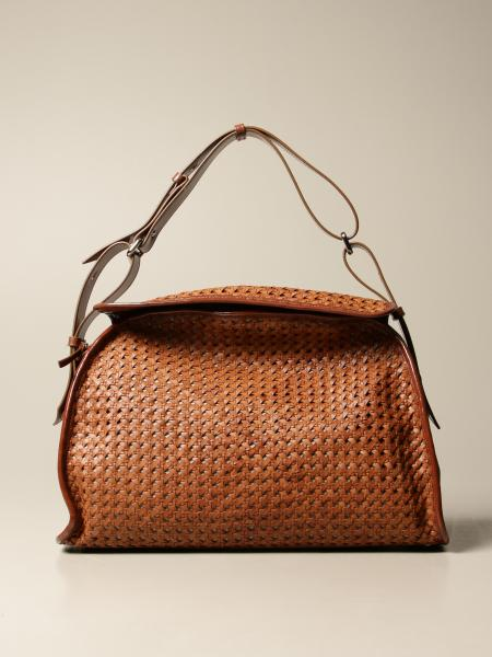 Carditosale: Way Carditosale bag in woven leather
