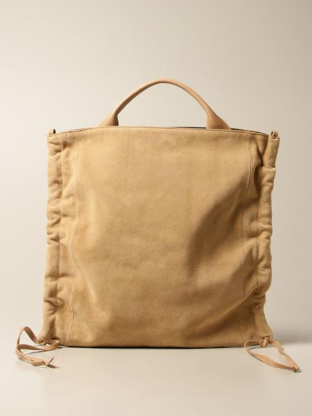 Carditosale: Cube Carditosale bag in suede