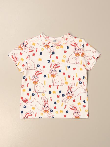 T-shirt Mini Rodini in cotone stampato