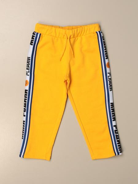 Mini Rodini: Mini Rodini jogging trousers with logoed bands