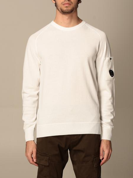 Crewneck sweater C.p. Company in cotton with logo