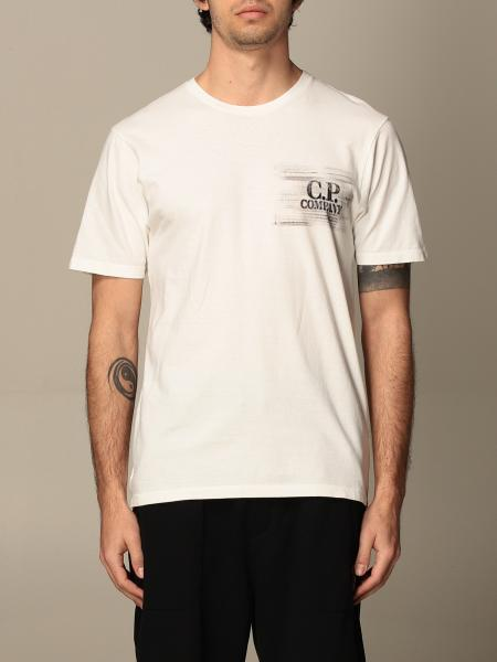 C.P. T-shirt Company in cotton with logo print
