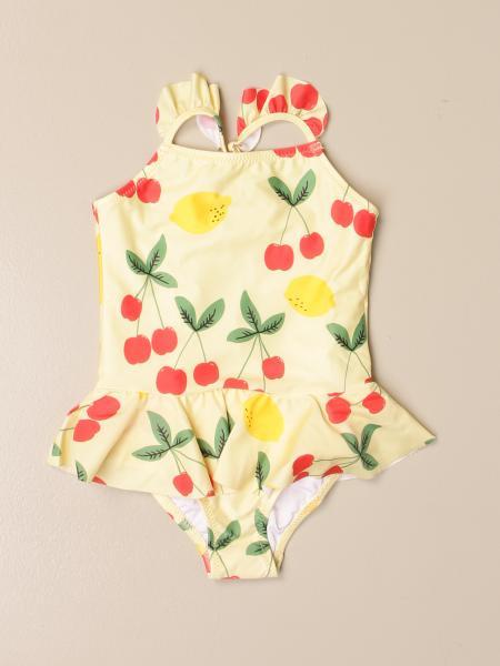Costume intero Mini Rodini a fantasia di frutta