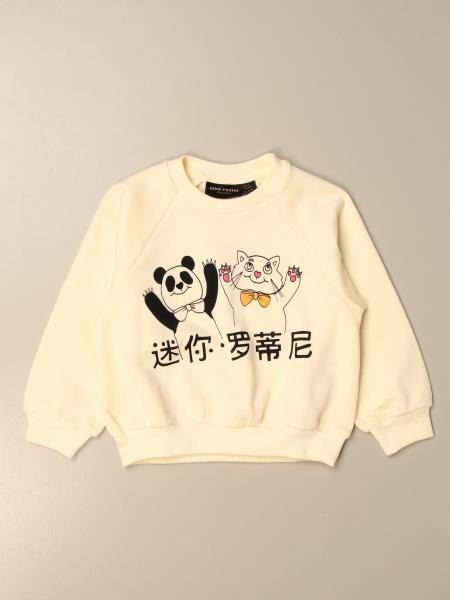 Mini Rodini: Mini Rodini crewneck sweatshirt with print