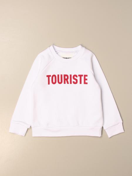 Felpa a girocollo Touriste con big logo