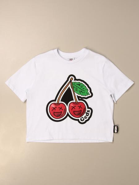 Gcds cropped T-shirt with cherries