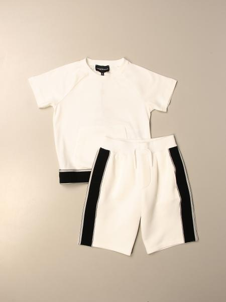 Completo t-shirt + pantaloncino Emporio Armani in cotone