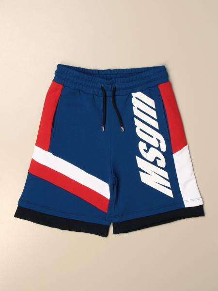 Msgm Kids jogging shorts with logo