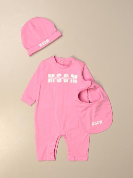 婴儿全身套装 儿童 Msgm Kids