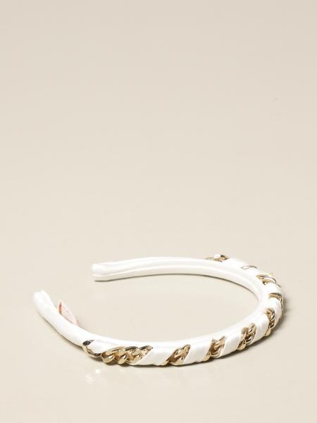 Elisabetta Franchi headband with metal chains
