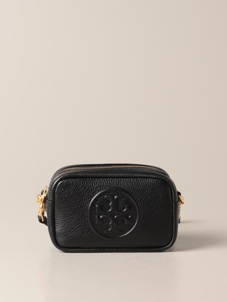 Tory Burch: Perry Bomber mini Tory Burch bag in grained leather
