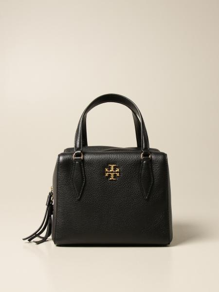 Tory Burch: Kira Pebbled Tory Burch bag in textured leather