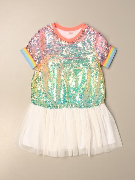 Billieblush: Billieblush dress with multicolor sequins