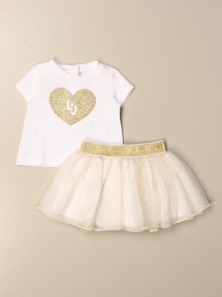 Liu Jo t-shirt + wide skirt set