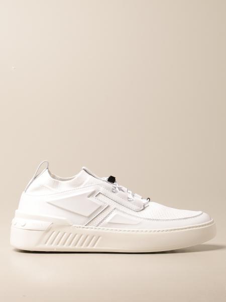 Sneakers No_Code X Tod's in pelle e tessuto tecnico