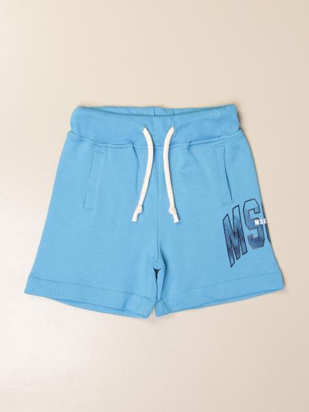 Pantaloncino jogging Msgm Kids in cotone con logo