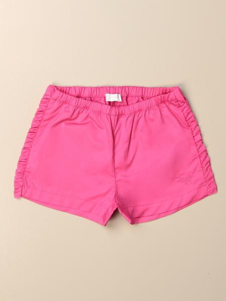 Il Gufo jogging shorts with ruffles