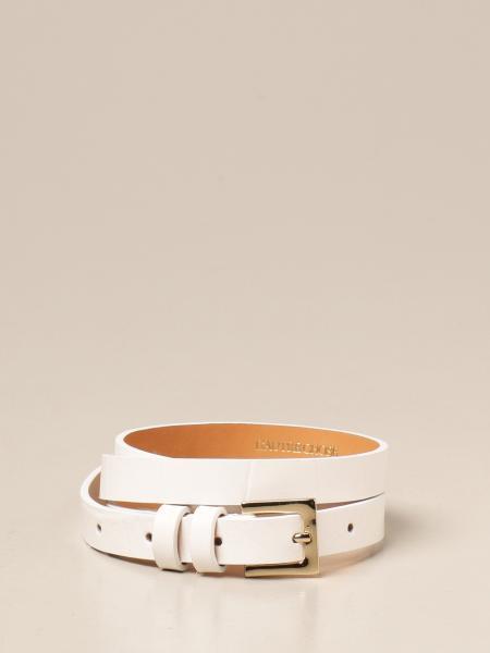 L'autre Chose: Cintura L'autre Chose in pelle con stampa cocco