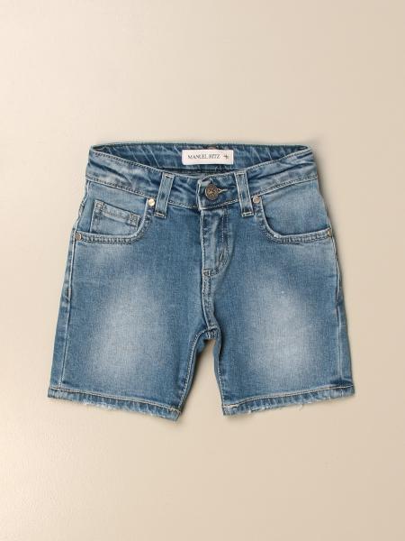 Pantalons courts enfant Manuel Ritz