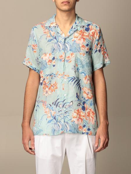 Camicia Etro a fantasia floreale