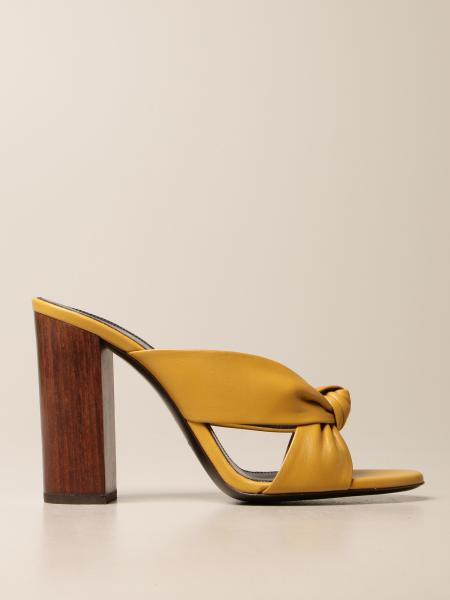 Sandalen mit absatz damen Saint Laurent