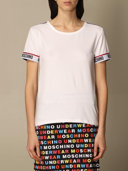 Moschino ЖЕНСКОЕ: Футболка Женское Moschino Underwear