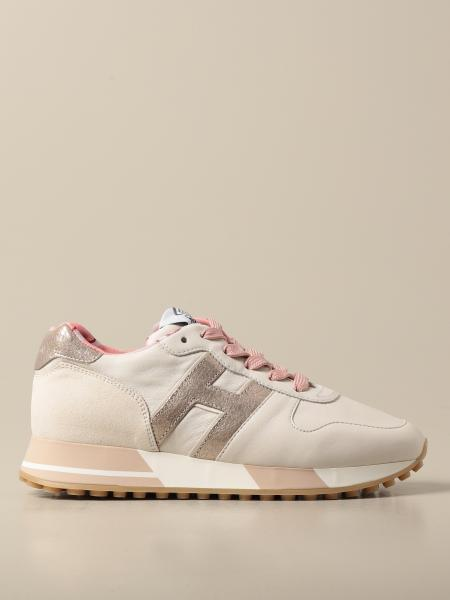 Hogan women: Hogan sneakers in leather and suede
