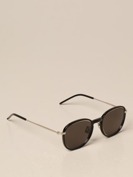 Saint Laurent men: Saint Laurent sunglasses in acetate and metal