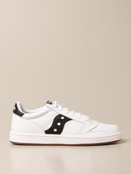 Sneakers Saucony in pelle con logo