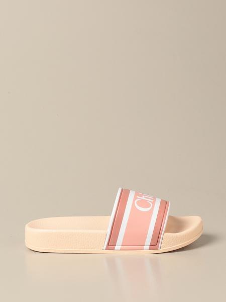 Chloé: Slide Chloé sandals in rubber