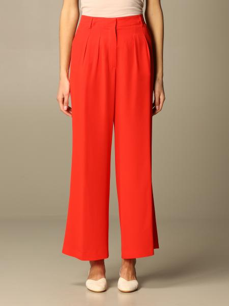 Etro women: Wide Etro trousers in crepe