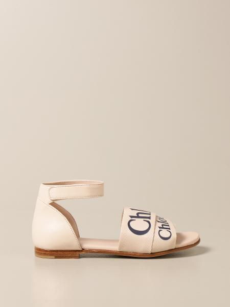 Chloé: Chloé flat sandals with logo
