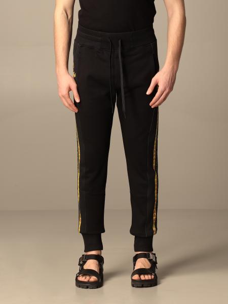 Versace Jeans Couture uomo: Pantalone jogging Versace Jeans Couture con bande barocche